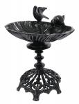 Casa Padrino Jugendstil Vogeltränke Antik Stil Gussmetall H 50 cm Vogelbad