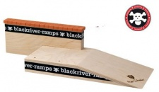 Blackriver Fingerboard Ramp Mike Schneider III Brick Ledge - Black River Holz Rampe Blackriver Ramps