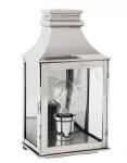 Casa Padrino Luxus Wandleuchte Nickel Durchmesser 17 x 13 x H 33 cm - Luxus Qualität