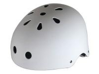 Krown Skateboard Helm White - Bmx, Inliner, Longboard Helm - Schutzausrüstung
