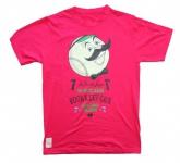 Cityfellaz Sketebord Girlie T-Shirt Pink