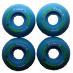 Vader´s Skateboard Profi Wheel Set Blue 47mm / 100A Super Small (1 Set = 4 Rollen)