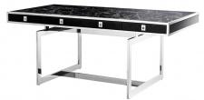 Casa Padrino Luxus Schreibtisch mit 4 Schubladen 190 x 90 x H. 74, 5 cm - Luxus Kollektion