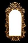 Casa Padrino Barock Wandspiegel Gold B 66 x H 117 cm - Edel & Prunkvoll