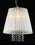 Casa Padrino Barock Decken Kristall Hängelampe Creme Gold 30 x H 27 cm Antik Stil - Möbel Lüster Leuchter Deckenleuchte Hängelampe