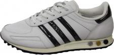 Adidas Herren Sportschuhe La Trainer Lin- Weiß/Navy/Gold Schuhe