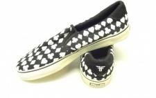 FALLEN Skateboard Schuhe Loker SE Marks/Schwarz/Weiß/Suits 1B Ware