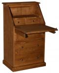 Casa Padrino Landhausstil Sekretär mit 5 Schubladen 65 x 45 x H. 110 cm - Möbel im Landhausstil