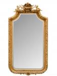 Casa Padrino Barock Spiegel mit goldenen Rahmen 100 x H. 175 cm - Antik Stil Möbel