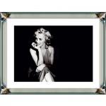 """Casa Padrino Designer Bild """" Bleib eine Weile"""" Marilyn Monroe 80 x H. 60 cm Mod1 - Limited Edition"""