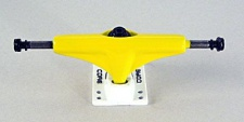 Core Skateboard Truck Set 5.0 yellow/white (2 Trucks)