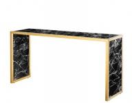 Casa Padrino Luxus Konsole Gold 150 x 40 x H. 75 cm - Luxus Kollektion
