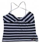 Meltin Pot Sketebord Girlie T-Shirt Amidala Blue/White Stripes