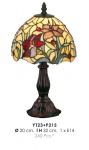 Tiffany Tischleuchte Durchmesser 20cm, Höhe 32cm YT23+P215 Leuchte Lampe