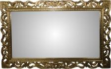 Casa Padrino Barock Spiegel Gold Handgefertigt 160 x 100 cm - Holzspiegel - Barock Möbel