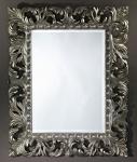 Casa Padrino Barock Spiegel Silber 80 x H. 100 cm - Barockstil Möbel & Accessoires