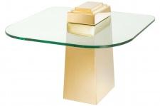 Casa Padrino Luxus Beistelltisch Gold 65 x 65 x H. 51 cm - Luxus Qualität
