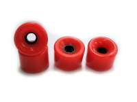 70mm 78a Blank Longboard Wheels Orange (4 Stück) Wheel Set Skateboard Rollen