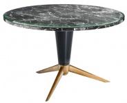 Casa Padrino Designer Luxus Esstisch 120 x H. 75 cm - Hotel Tisch Möbel