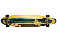 Krown Longboard Komplettboard Skateboard Hawaii Lookout 9 x 40 inch Kicktail