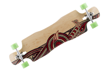 Mindless Complete Longboard Wreather II Drop Through 41.0 x 10.0 inch - Dropthrough Profi Longboard mit Koston Kugellagern