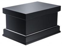 Casa Padrino Luxus Sockel für Deko Objekte schwarz 63 x 43 x H. 36 cm - Limited Edition