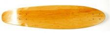 MySkateBrand Oldschool Skateboard Blank Freestyle Cruiser Deck natural kicktail 33.75 x 8