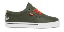 Etnies Skateboard Schuhe Jameson 2 Eco Green/orange Etnies Shoes