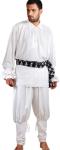 John Cook II Piraten / Mittelalter Set - White