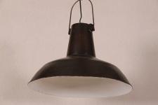 Casa Padrino Vintage Industrie Hängeleuchte Antik Stil Schwarz Metall - Restaurant - Hotel Lampe Leuchte - Industrial Leuchte