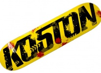 Koston Skateboard Deck Iron I 8.0 x 31.125 inch