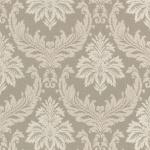 Casa Padrino Barock Textiltapete Beige / Creme - 10, 05 x 0, 53 m - Stofftapete mit Vlies Struktur