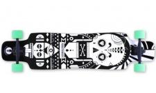 NINETYSIXTY Doublekick Longboard Cruiser Skateboard komplett 103.5 cm mit Koston Kugellagern