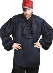 Buccaneer Piraten Shirt - Black