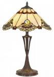 Casa Padrino Luxus Tiffany Tischleuchte Mehrfarbig Ø 40 x H. 60 cm - Luxus Qualität
