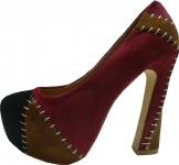 Joxy High Heels-- Damen Schuhe- Marron