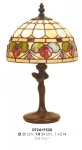 Tiffany Tischleuchte Durchmesser 20cm, Höhe 34cm DT24 + P520 Leuchte Lampe
