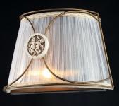 Casa Padrino Barock Wandleuchte Bronze 28 x H 19 cm Antik Stil - Wandlampe Wand Beleuchtung