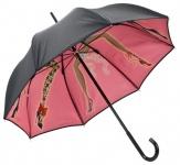 Chantal Thomass Designer Damen Regenschirm mit den Cancan tanzenden Damen - Elegant und Extravagant - Made in Paris