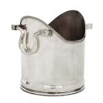 Wunderschöner Weinflaschenhalter Strassburg aus vernickeltem Metall von Casa Padrino - Luxus Qualität - Flaschenhalter - Flaschenablage
