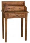 Casa Padrino Landhausstil Schreibtisch mit 3 Schubladen 65 x 40 x H. 102 cm - Wohnzimmermöbel