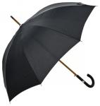 Klassischer Jean Paul Gaultier Designer Luxus Regenschirm mit Lederoptik Griff - Made in Paris