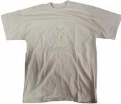 Herren Skateboard T-Shirt Cream