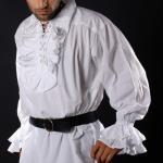 Captain Charles Vane Piraten Shirt - White (Baumwolle)