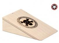 Fingerboard Holz Rampe Blackriver Ramps Pocket Kicker Fingerboard Jump Ramp - Black River
