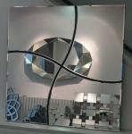 Casa Padrino Spiegel / Wandspiegel 76 x H. 76 cm - Luxus Qualität