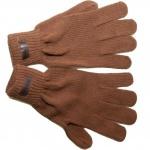 Billabong Damen Strick Handschuhe Olive Braun Oldschool