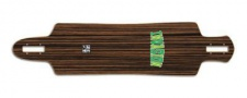 Invasion by Jet Voyager SuperNatural Longboard Deck 10 x 41.5 - Drop Through Cruiser Longboard