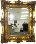 """Baroque Mirror """" Emperor"""" Double Frame 128 x 105 cm"""
