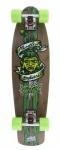 Mindless Voodoo Complete Skateboard Longboard Retro Cruiser Rustler Green - Profi Oldschool Bamboo / Maple Longboard - 29.13 x 7.87 inch -